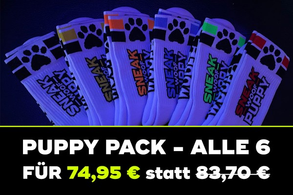 "SNEAKFREAXX ""PUPPY"" 6-PACK"