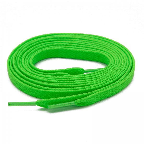 "NEON LACES 120 mm ""GREEN"""