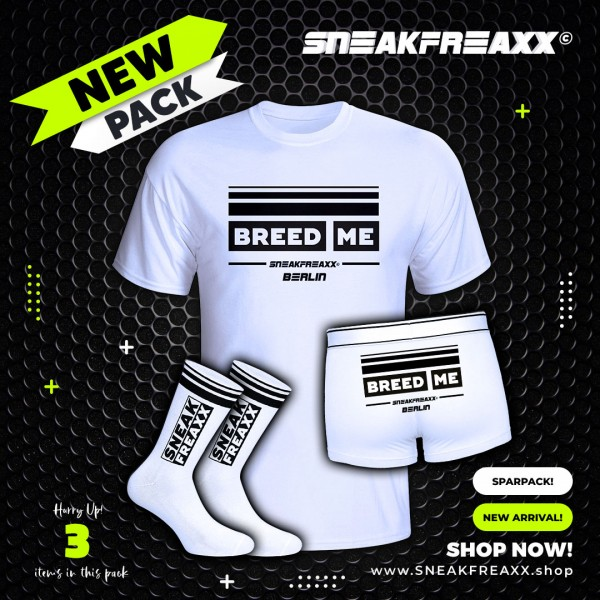 """SNEAKFREAXX PACK """"BREED ME"""""""