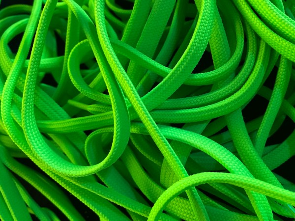 """NEON LACES 120 mm """"GREEN"""""""