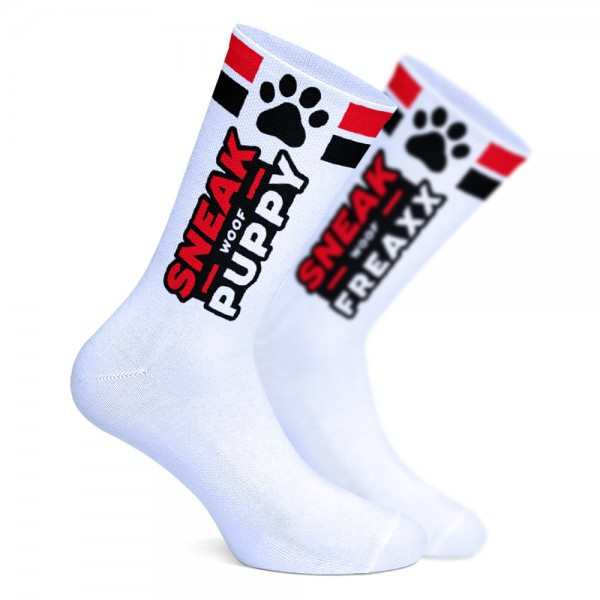 PUPPY RED - SOCKEN