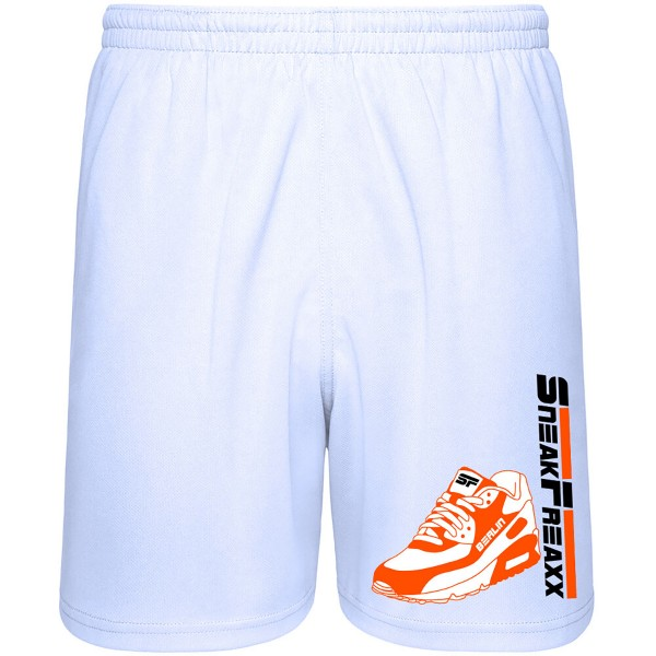 SHORTS - SNEAK MAX - WHITE